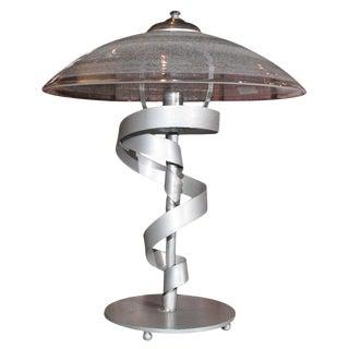 Steel Desk Lamp For Sale