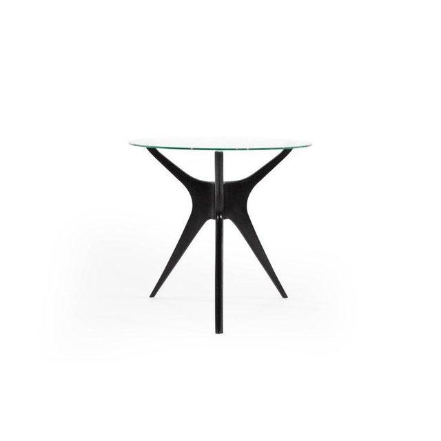 Mid 20th Century 1950s Vladimir Kagan Walnut Trisymmetric End Tables - a Pair For Sale - Image 5 of 10