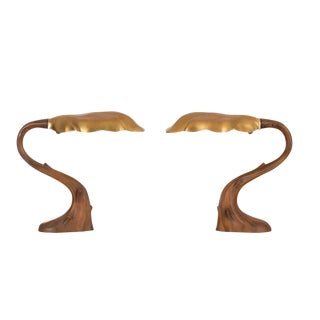 Pair of Table Lamps in the Style of Gaudi For Sale