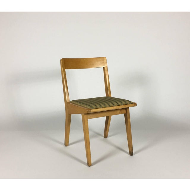 1950s Mid-Century Modern Jens Risom Knoll Side Chair For Sale - Image 10 of 10