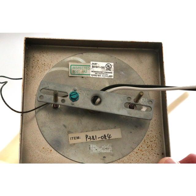 Large Geometric Alabaster Pendant Lights For Sale - Image 10 of 11