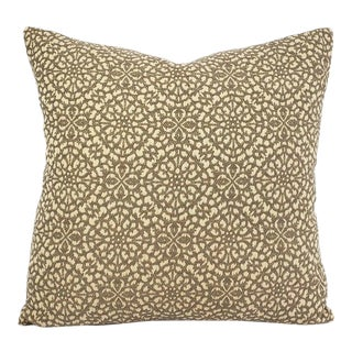 """Spanish Pindler Armadietto in Platino Pillow Cover - 20"""" X 20"""" For Sale"""