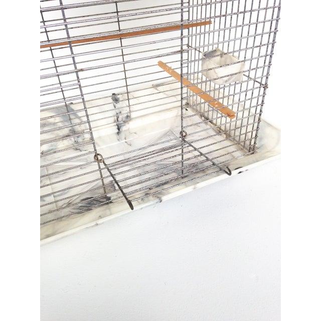 Mid Century Bakelite Bird Cage For Sale - Image 5 of 6