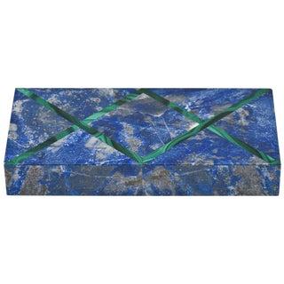 Lapis Lazuli and X-Form Malachite Box