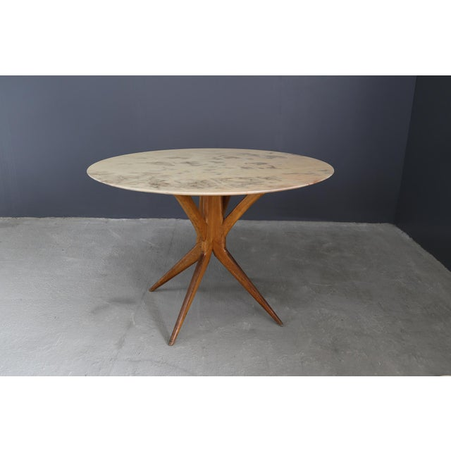 1950s 50's Table Attributed to Bbpr. For Sale - Image 5 of 5