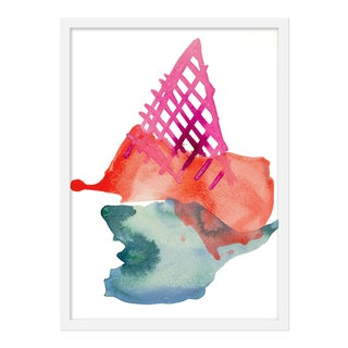 "Medium ""Strawberry Cone"" Print by Kate Roebuck, 18"" X 25"" For Sale"
