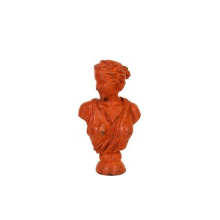 Diana Plaster Bust, Diana the Hunter Bust, Plaster Bust, Vintage Bust For Sale