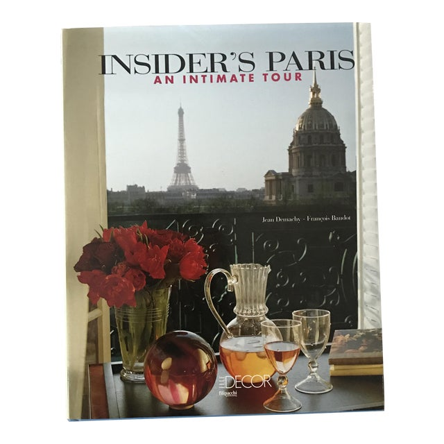 'Insider's Paris' Hardcover Book For Sale