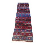 Image of Anatolian Cecim Kilim Runner - 2′3″ × 8′ For Sale