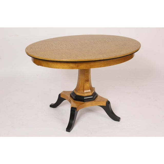 Biedermeier Style Oval Occasional / Center Table For Sale - Image 11 of 11