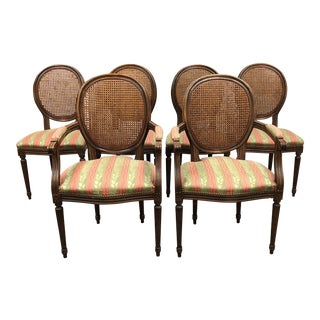 Fratelli Boffi Louis XVI Dining Chairs - Set of 6