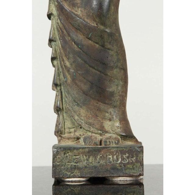 Metal Gladys Lewis Bush Bronze Sculpture For Sale - Image 7 of 8