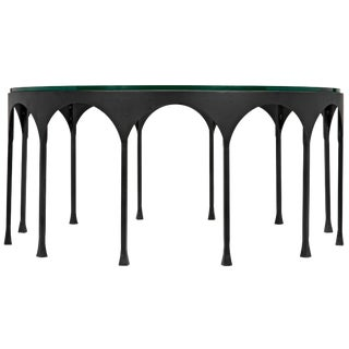 Achille Coffee Table, Matte Black For Sale