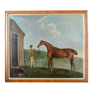 Francis Santorius Horse Painting For Sale