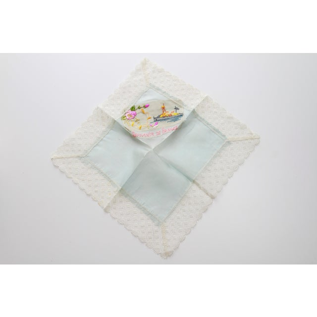"World War I ""Souvenir De France"" Silk Handkerchief - Image 2 of 11"