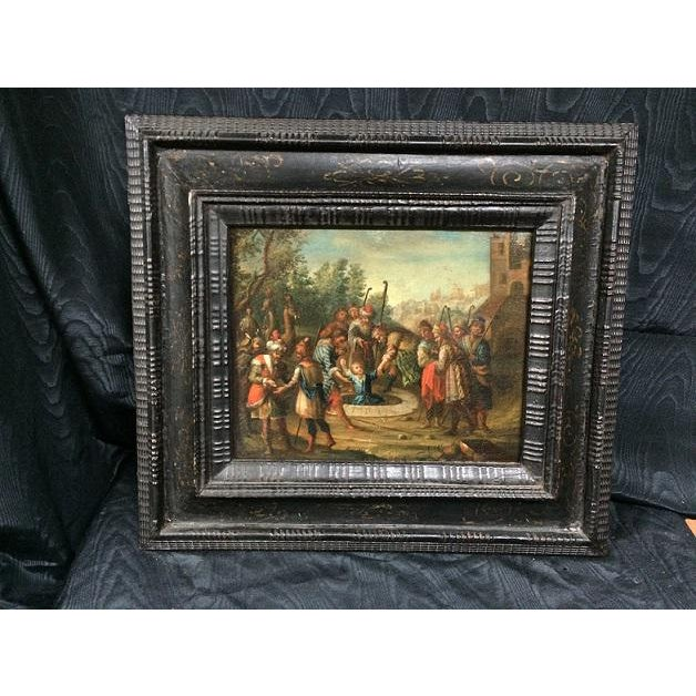 Early 18th Century 18th Century Dutch Painting For Sale - Image 5 of 5