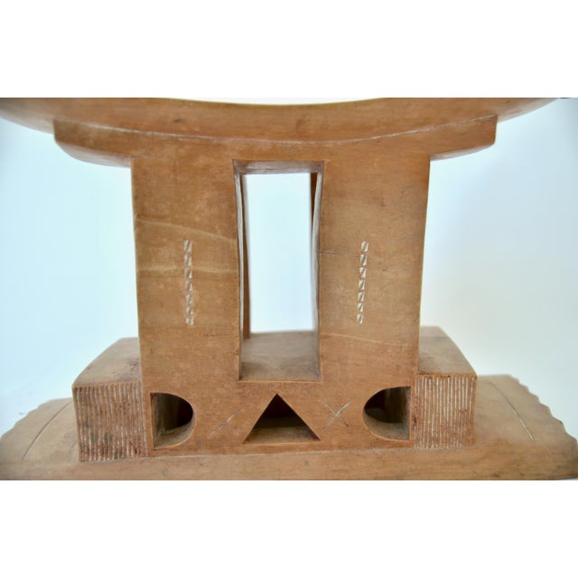 1940s Ashanti Stool Ghana, Early 20th Century For Sale - Image 5 of 7