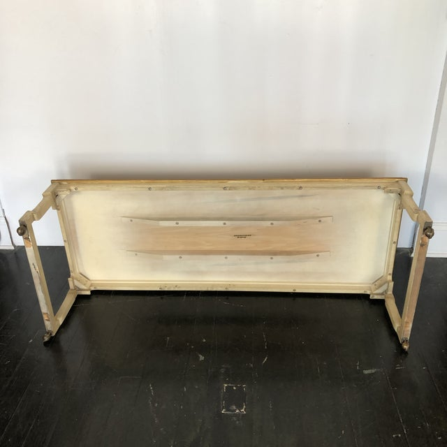 Wood Tomelinson Burled Wood Coffee Table For Sale - Image 7 of 11