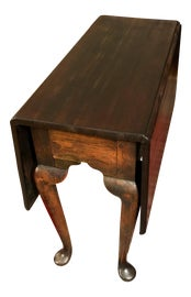 Image of Mahogany Drop-Leaf and Pembroke Tables