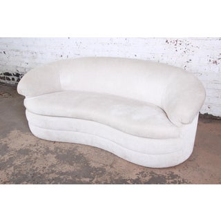 Vladimir Kagan Style Mid-Century Kidney-Shaped Sofa Preview