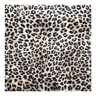 Leopard Microfiber Velvet Fabric