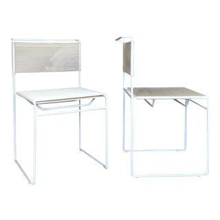 "1970s Vintage Giandomenico Belotti ""Spaghetti"" Chairs- a Pair For Sale"