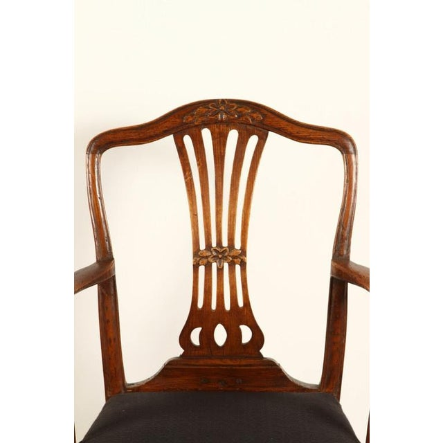 Danish Elm Armchair, circa 1780 For Sale In Los Angeles - Image 6 of 8