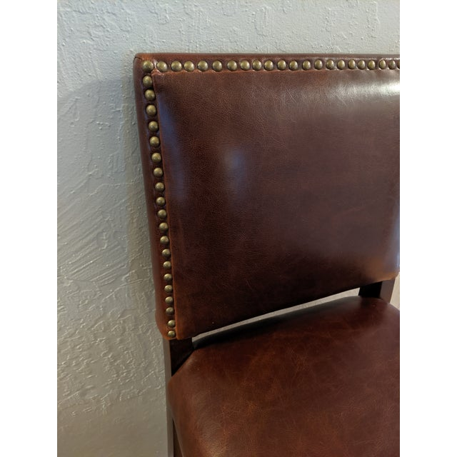 Prime Modern Alder Tweed Weston Leather Counter Stool Chairish Uwap Interior Chair Design Uwaporg