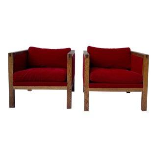 Mid Century Modern Metropolitan Chairs - a Pair For Sale