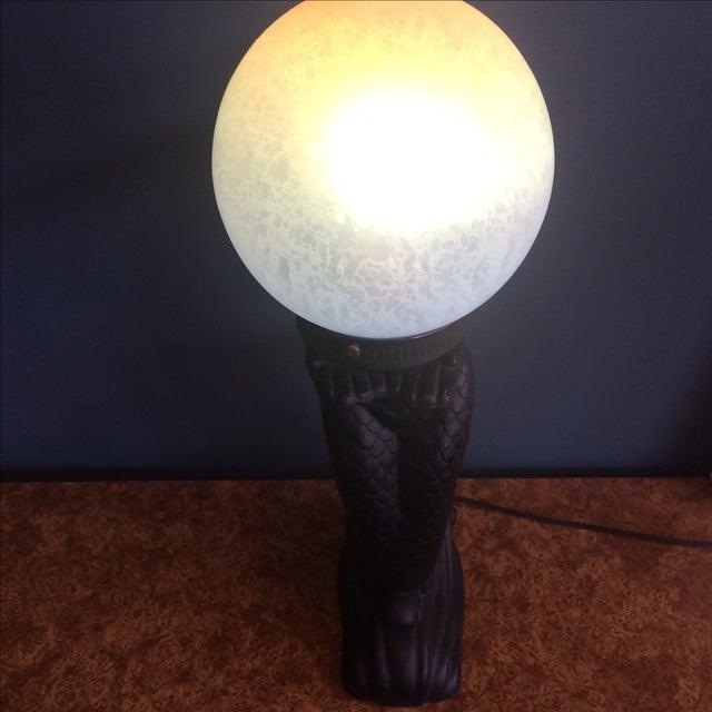 Mermaid Lamp For Sale - Image 5 of 8