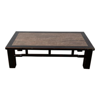 Chinese Stone Top Table For Sale