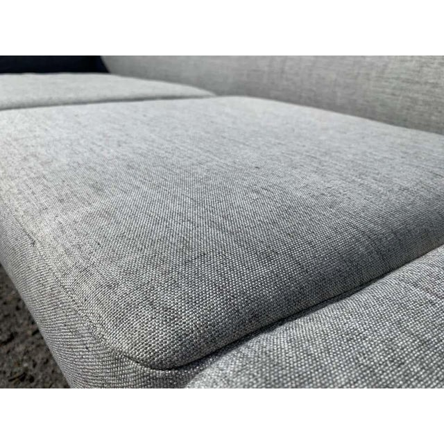 Silver Illum Wikkelso-Mikael Laursen 4-Seat Sofa-Denmark, 1960s For Sale - Image 8 of 11