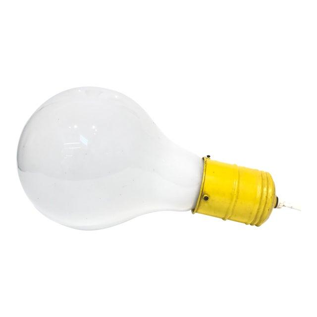 Pop Art Lightbulb Lamp - Image 1 of 5