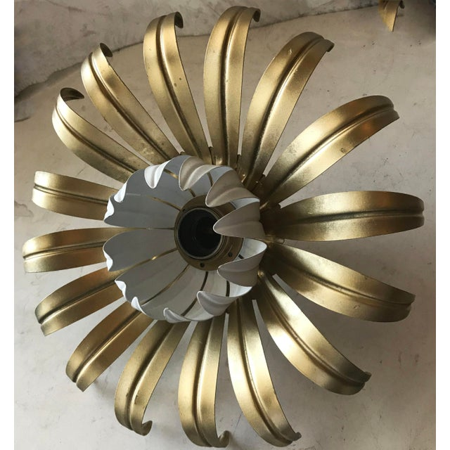 Mid-Century Modern 1960s Flush Mount or Sconce by Banci Firenze For Sale - Image 3 of 4