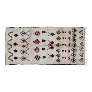 Moroccan Rug- 11' X 5'1'' For Sale
