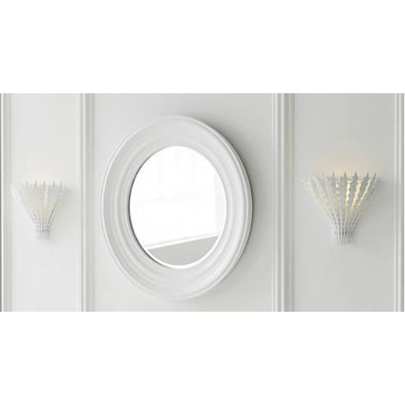 2010s Visual Comfort White Hampton Wall Sconce For Sale - Image 5 of 6