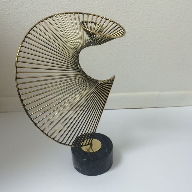 Curtis Jere Helix Sculpture - Image 2 of 8