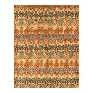 """Pasargad's Ikat Wool Area Rug - 9'11"""" X 14'2"""""""