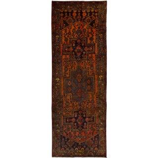 "Zanjan Vintage Persian Rug, 3'4"" x 9'8"" feet"