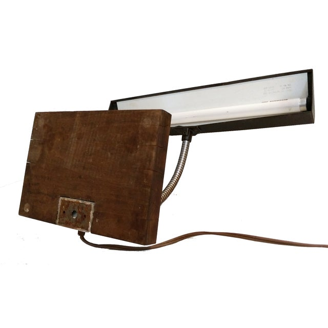 Art Specialty Goose Neck Lamp - Image 4 of 10