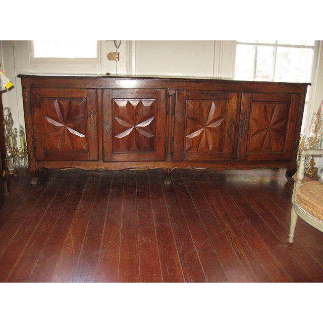French Antique Sideboard in Walnut, 18th Century For Sale - Image 5 of 12