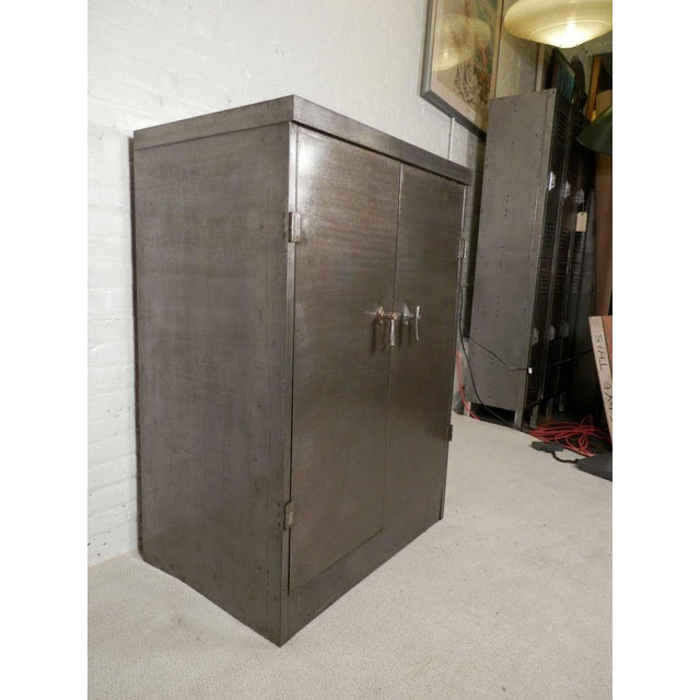 Industrial Heavy Duty Industrial Metal Cabinet For Sale - Image 3 of 9