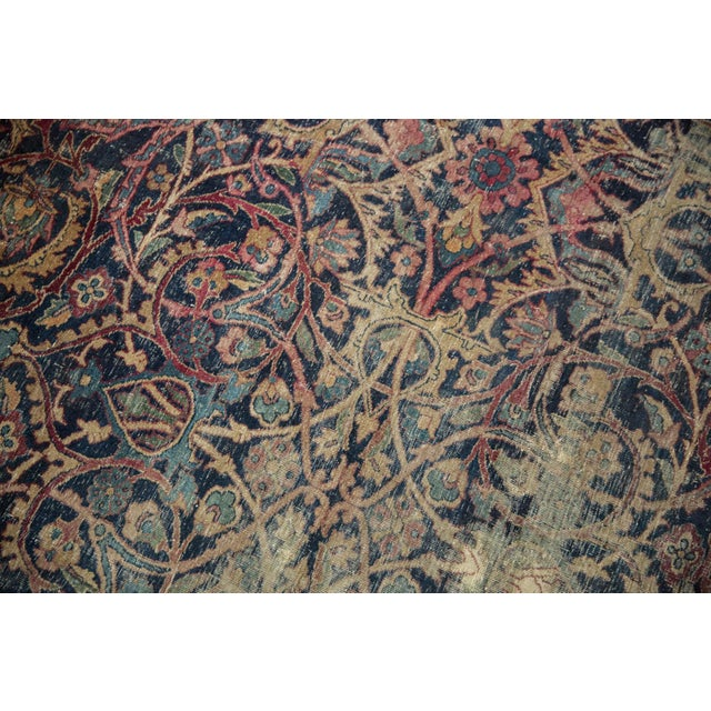 "Vintage Yezd Carpet - 9'2"" X 11'9"" For Sale - Image 9 of 13"