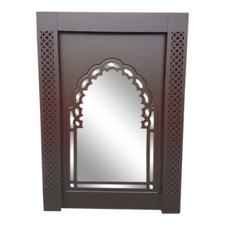 Moroccan Contemporary Wooden Mirror Frame For Sale