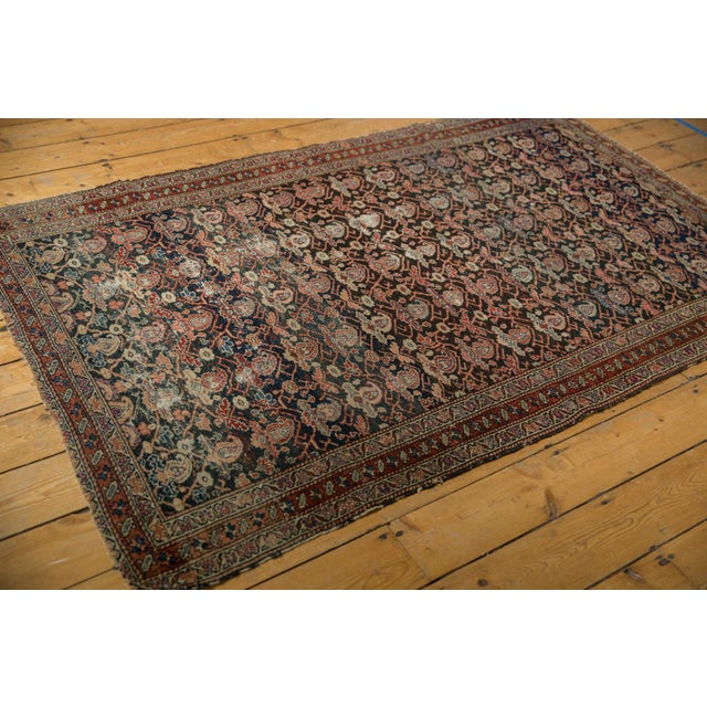 "Late 19th Century Antique Fine Malayer Rug - 4'1"" X 6'4"" For Sale - Image 5 of 13"