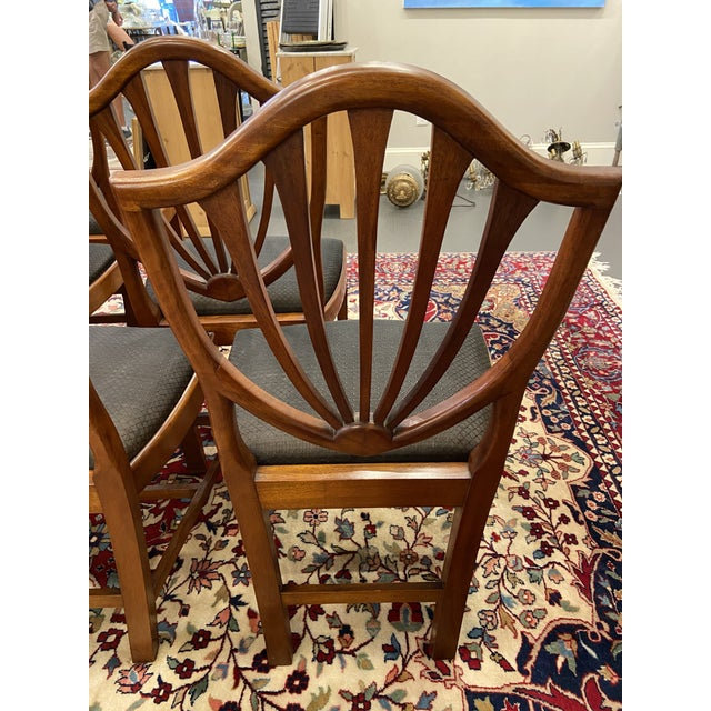 Brown Early 20th Century Irving & Casson Dining Chairs - Set of 8 For Sale - Image 8 of 13