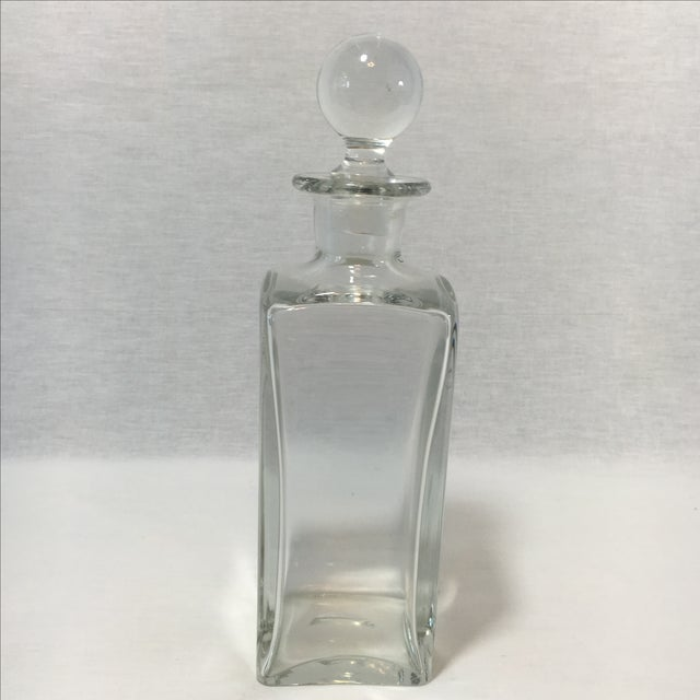 Square Glass Decanter - Image 2 of 4