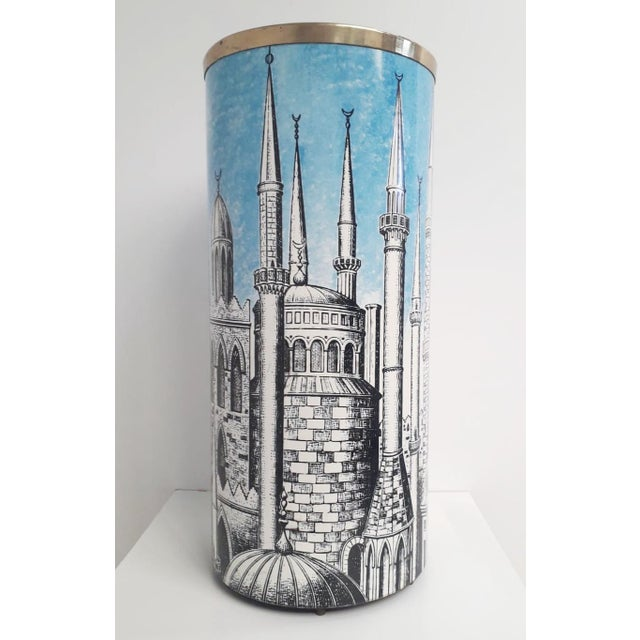 """Mid-Century Modern """"Minarets"""" Umbrella Stand by Fornasetti For Sale - Image 3 of 7"""