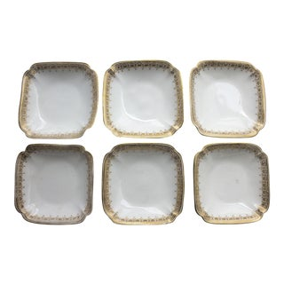 D & C Limoges Delinieres & Co. Salt Cellars - Set of 6 For Sale