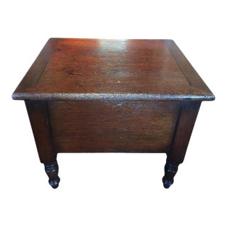 Mahogany Bed Chamber or Stool, 19th Century For Sale